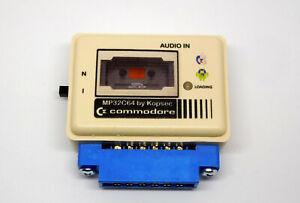 MP32C64 boxed COMMODORE 64 Datassette emulator+306 games C64, C128, VIC20