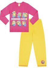 Girls Minions Pyjamas 5 to 10 Years I  Despicable Me Pjs I Say Poopaye W15