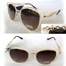 New GUESS GF0343 Rose Gold/Brown Womens Sunglasses $80 - small defect