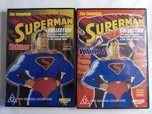 The Complete Superman Collection Vol 1, Vol 2. DVD Original series.