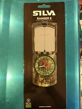 """37471 Silva Sweden Ranger S Mirrored Compass For Sighting Hiking Camping  """"MS"""""""