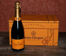 6 Flaschen Veuve Clicquot Brut Yellow Label 0,75l 12% Vol Originalkarton