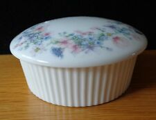 Wedgwood Angela Fluted Round Box with Lid in original Box