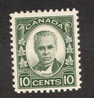 #190  Canada George I  - 1931 - 10 Cent stamp MH  -  F/VF - superfleas