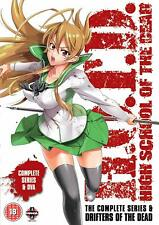 High School of the Dead - Drifters Of The Dead Edition (DVD, 2013) FREE SHIPPING