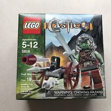 LEGO Castle Set 5618 Troll Warrior Complete New Sealed 2008