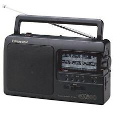 Panasonic RF3500 Black FM/LW/MW/SW 4-Band AC/DC GX500 Portable Radio RF-3500 New