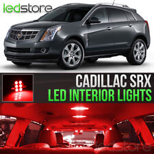 2010-2016 Cadillac SRX Red Interior LED Lights Kit Package