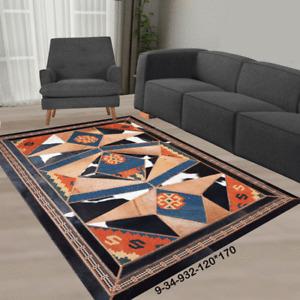 New floor rugs cowhide kilim rugs carpet patchwork Bohemian rugs online AU 9-34