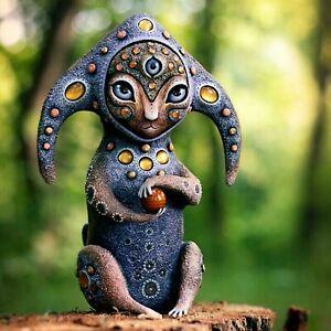 Fantasy World Creature Resin Statue Sculpture Figurine Home Garden Office Decor