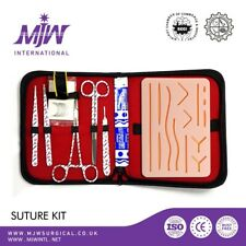 SUTURE PRACTICE KIT SURGICAL TRAINING TOOL MEDICAL,VETERINARIAN DENTAL STUDENTS