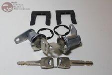 Ford Door Lock Cylinder Set Mustang Truck Galaxie Fairlane OEM Keys Flat Pawl