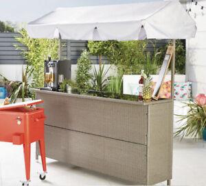 🌴 Gardenline Rattan Garden Bar ☀️ Summer Outdoor Furniture. NEW FREE DELIVERY🔥