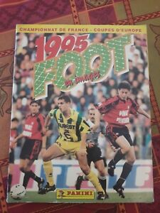 ALBUM PANINI Foot 1995 en images COMPLET BE  FRANCE FOOTBALL 1995 SS SCORE