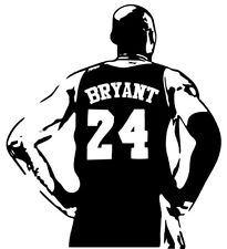 Kobe Bryant vinyl decal sticker basketball lakers 24 8 car window laptop cup