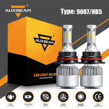 AUXBEAM 9007 HB5 LED Headlight Bulb Kit for Ford F-150 1992-2003 F-250 1992-1999