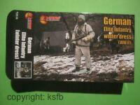 1:72 MARS #111 WKII Deutsche Elite Infanterie in Winter Uniform Schneetarnung