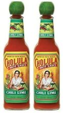 Cholula Chili Lime Hot Sauce 2 Bottle Pack
