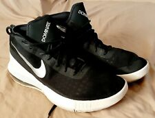 New listing NIKE Air Max Dominate Basketball Shoes Black/White/Silver Mens (Sz 15) Preowned