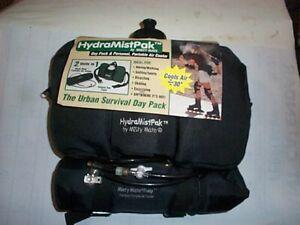 NEW MISTY Mate HydraMistPak Waist Bag & Pump Portable Air Cooler 2 in ! unit BLK