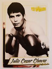 Julio Cesar Chavez 2017 4LUVofBOXING Boxing Card Limited Print JCC