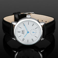 ESS  Mens Watch Mechanical Blue Hand Leather Strap Germany Fashion Gift Luxury