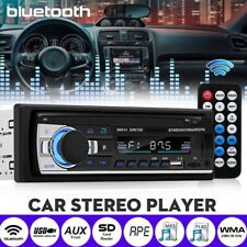 New listing Bluetooth Car Stereo Audio In-Dash Fm Aux Input Receiver Usb Mp3 Radio Player Sd