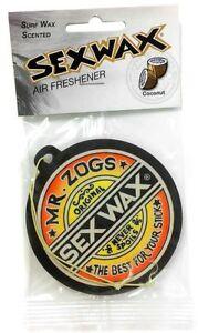 Mr Zogs Sex Wax Coconut Air Freshener