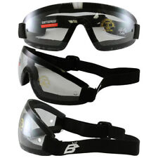 Birdz Wing Skydive Sky Diving Goggles Clear Lens UV400