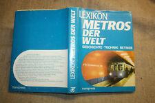 Lexikon Metros der Welt, Metrostation, Metro, U-Bahn, Technik, Geschichte, 1985