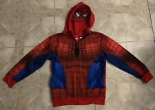 Marvel Comics Spider-Man Masked Hoodie Boys SZ XL