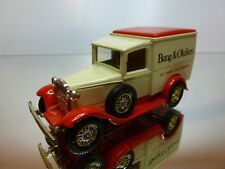MATCHBOX Y21 FORD MODEL A - BANG & OLUFSEN - VANILLA + RED 1:43? RARE - GOOD
