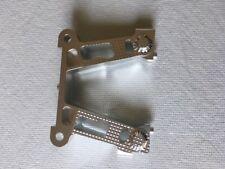 RDLogics Alum Rear Bulkhead (Fr) for HPI Baja 5B Silver