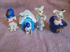 McDonalds 101 Dalmatian Dalmation Police Policeman Cake Topper Toy Lot Hat 4