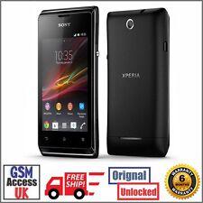Sony XPERIA E - 4GB-Nero (Sbloccato) Smartphone-Grade A