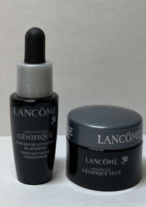 2PCs Lancome Advanced Genifique Youth Activating Concentrate & Eye Cream GWP NEW