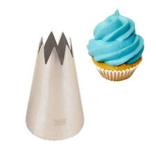 #356 Flower Icing Piping Pastry Tips Cupcake Mold Decor Stainless Steel Nozzles