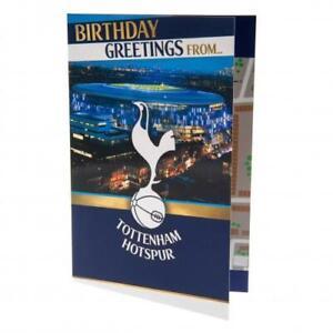 Tottenham Hotspur FC 3D Stadium Pop Up Birthday Card With Envelope Gift Xmas New
