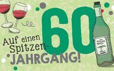 Geburtstagsteelicht Geburtstag Geburtstagkarte Kerze Teelicht Zum 60. Geburtstag