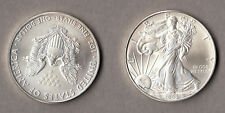 2009 Dollaro d'argento 1 Oz Liberty Eagle Aquila Stati Uniti moneta Investimento