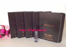 NEW 12 X Dolce Gabbana Intenso Pour Homme Eau de Parfum Men Perfume Sample 2 ml