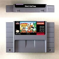 Goof Troop Game Card Console US Version For Nintendo SNES 16 Bit Eng