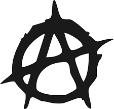 Anarchy  Car Camper Window Bumper Scooter Sticker