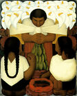 Festival Feast of Santa Anita 1931 by Mexican Diego Rivera 16X20 Poster FREE S/H