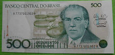 Brasil Brazil -500 cruzados 1988-p212d-unzirkulierte billete-UNC