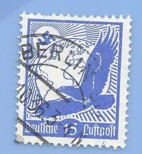 Germany Third Reich Nazi 1934 Nazi Swastika Eagle Luftpost 15 Stamp  WW2 ERA #5
