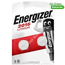2 x Energizer CR2016 3V Lithium Coin Cell Button Battery EXPIRY 2029 *New Packs*