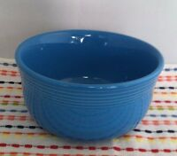 Fiestaware Peacock Gusto Bowl Fiesta 28 oz Retired Blue Bowl