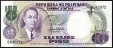 ND (1969) Philippines 100 Piso Banknote * aUNC * P-147a * Sign 7 *