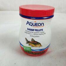 Aqueon Shrimp Pellets for Tropical Fish, Gold Fish, Bottom Feeders & Catfish New